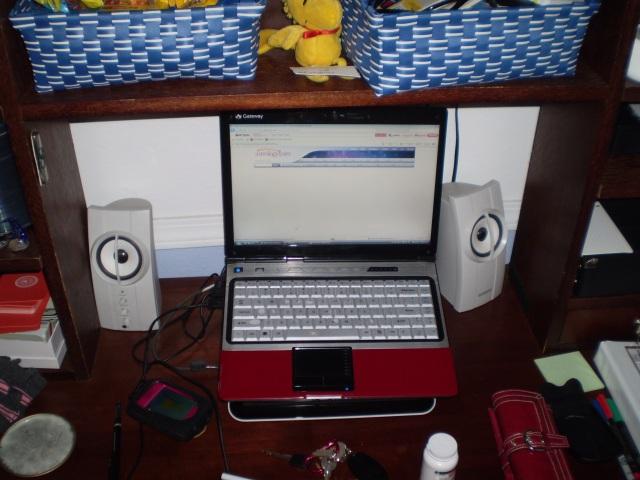 Darlene Reilley's desk