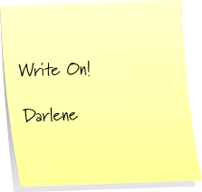 write on! darlene reilley