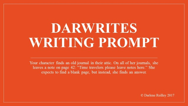 Darwrites Writing Prompt