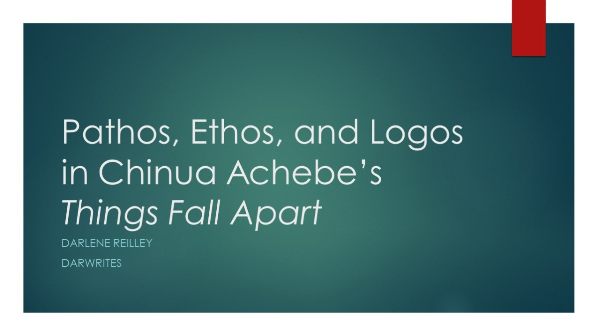 Pathos, Ethos, and Logos in Chinua Achebe's Things Fall Apart