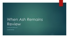 When Ash Remains Review