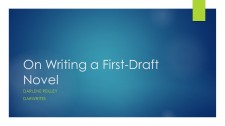 On Writing a First-Draft Novel