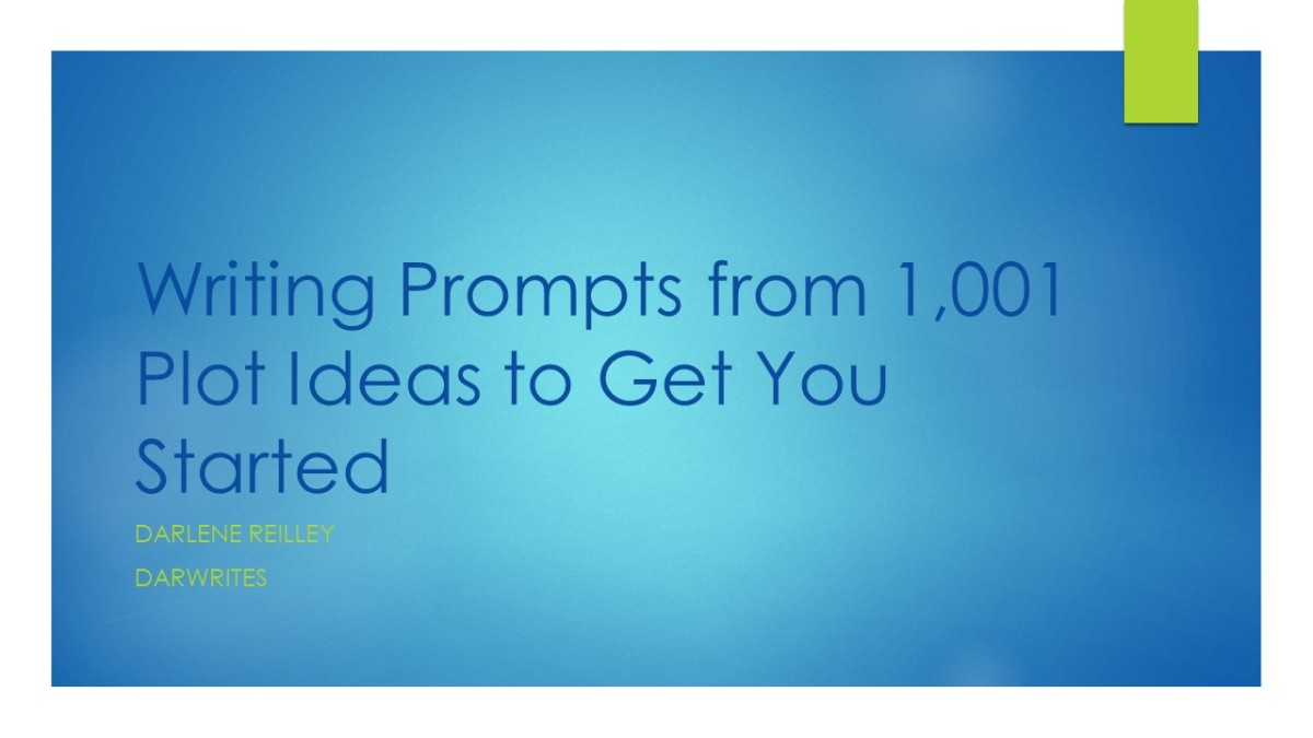 Writing Prompts from 1,001 Plot Ideas to Get You Started
