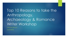 Top 10 Reasons to take the Anthropology,