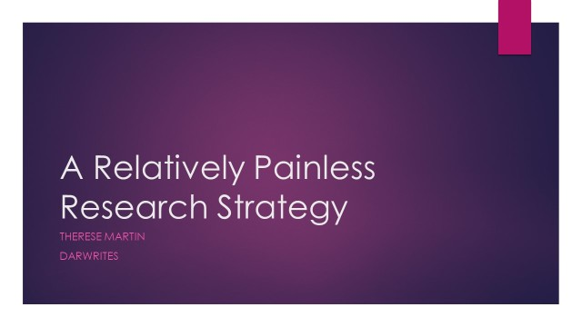 A Relatively Painless Research Strategy