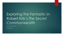 Exploring the Fantastic in Robert Kirk's The Secret