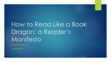 How to Read Like a Book Dragon