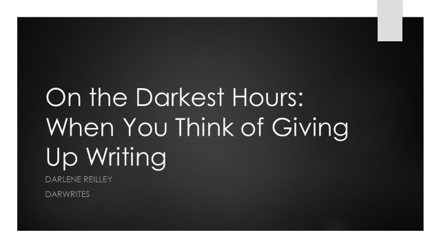 On the Darkest Hours
