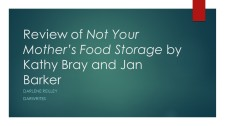 Review of Not Your Mother_s Food Storage by