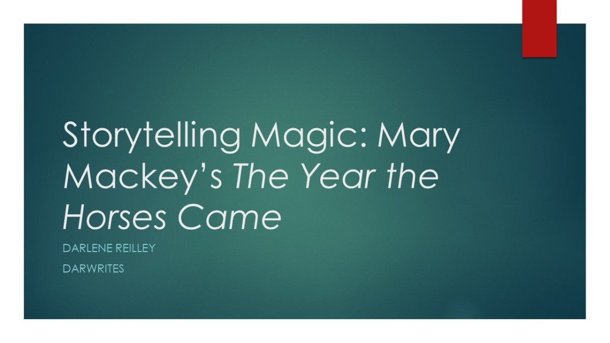 Storytelling Magic: Mary Mackey's The Year the Horses Came