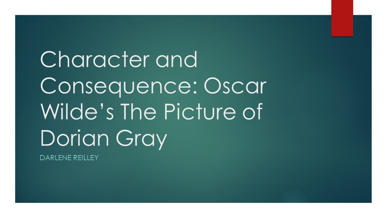 a review in the main character of the picture of dorian gray by oscar wilde The main characters are: dorian gray – a ^ oscar wilde quotes – a quote from oscar wilde about the picture of dorian gray wilde's review of giles.