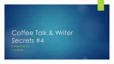 Coffee Talk & Writer Secrets