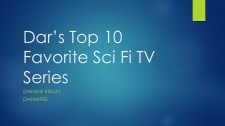 Dar_s Top 10 Favorite Sci Fi TV Series
