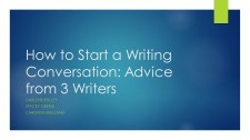 How to Start a Writing Conversation: Advice from 3 Writers