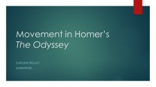 Movement in Homer_s The Odyssey