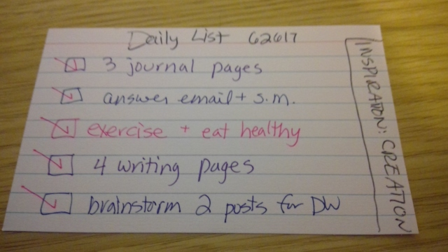 Darlene's Daily List