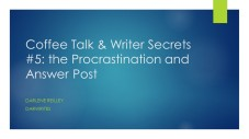 Coffee Talk & Writer Secrets 5