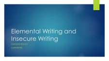 Elemental Writing and Insecure Writing