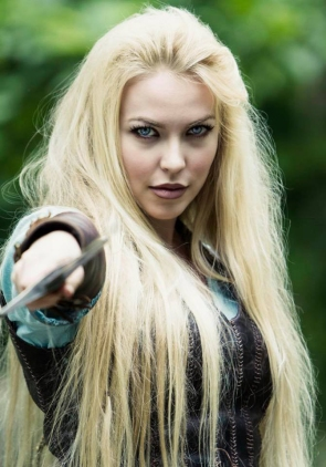 Rayden Valkyrie, played by Sol Geirsdottir, photo by Silvio Wolf Busch