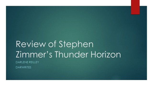 Review of Stephen Zimmer's Thunder Horizon