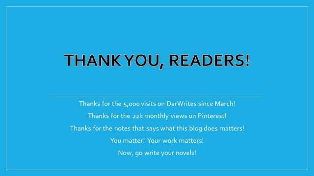 Thank You Readers